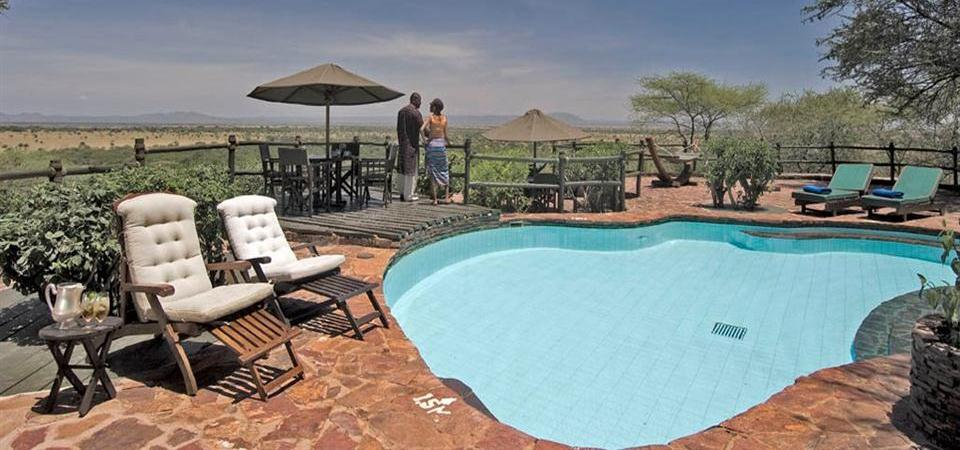 Kirawira Tented Camp Pool