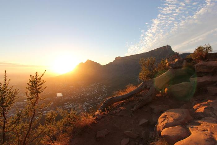 Sunrise Views over Cape Town