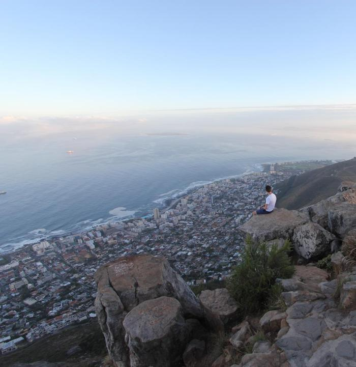 Resting at the Top of Lions Head