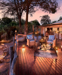 Linyanti Bush Camp Deck