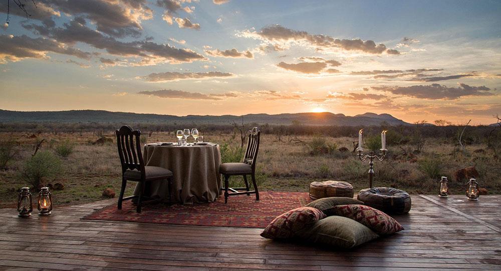 Madikwe Hills - Dinner