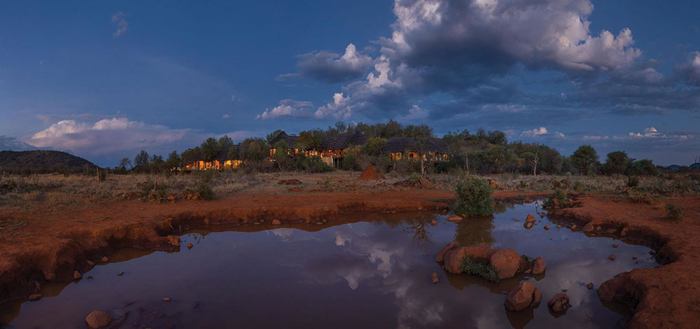 Madikwe Hills - Distance