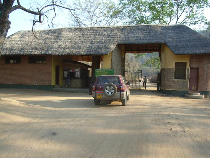 Liwonde National Park Entrance