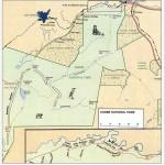 Map Chobe National Park