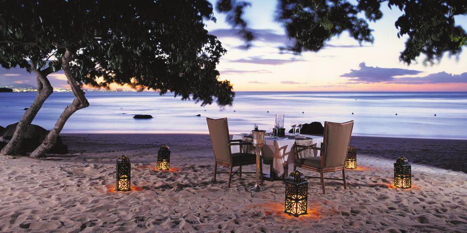 Oberoi Dining Mauritius Beach