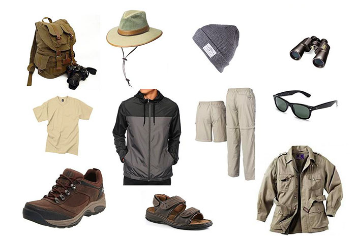 Safari Clothes for Men