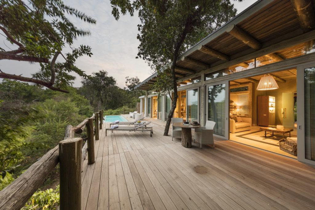 Kapama Karula Pool Exterior Superior Suite
