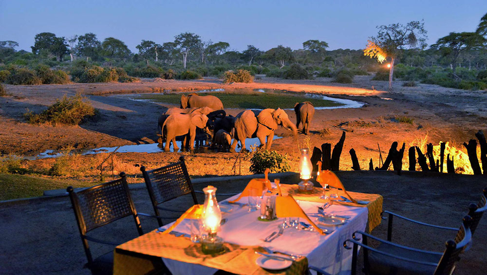 Elephant Valley Lodge Dinner