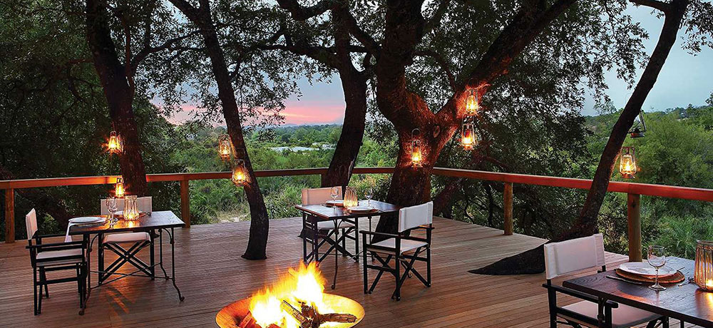 Londolozi Tree Camp Dining Deck