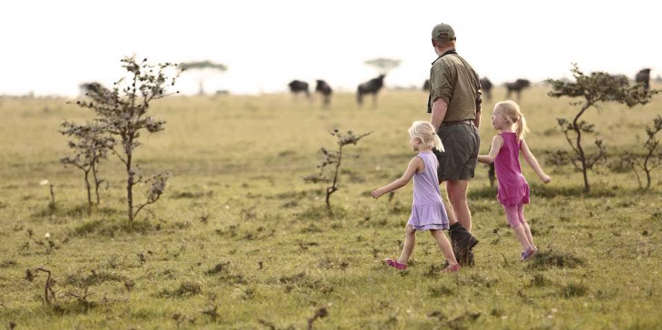 Bush Walks at Naboisho