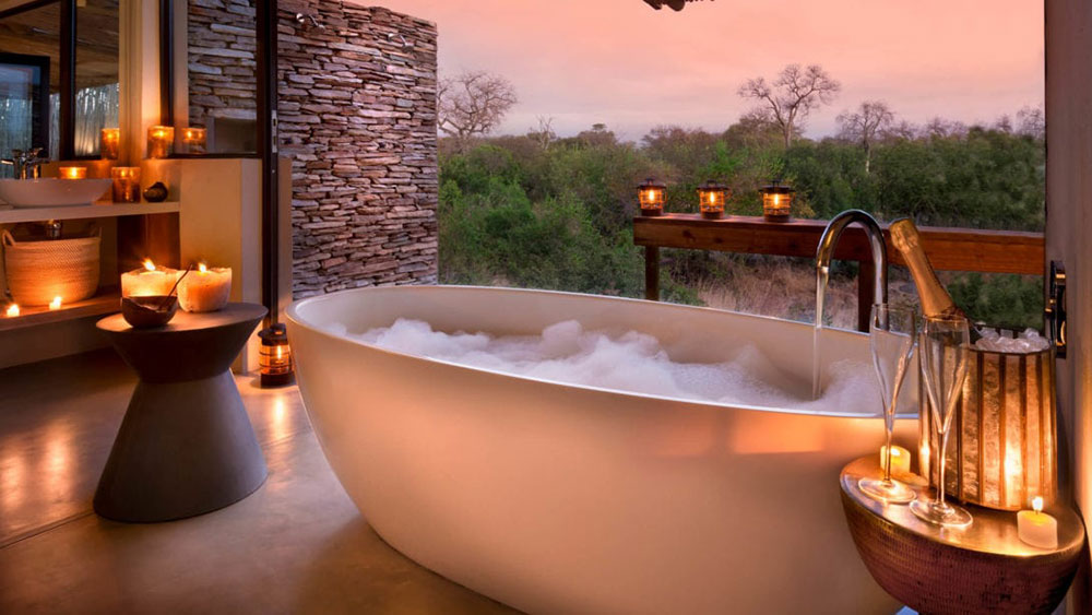 Rockfig Safari Lodge Suite Bath