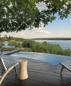 Royal Chundu Zambezi Island Lodge Exteriors Deck