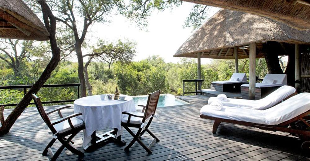 Royal Malawane Luxury Suite Terrace Room