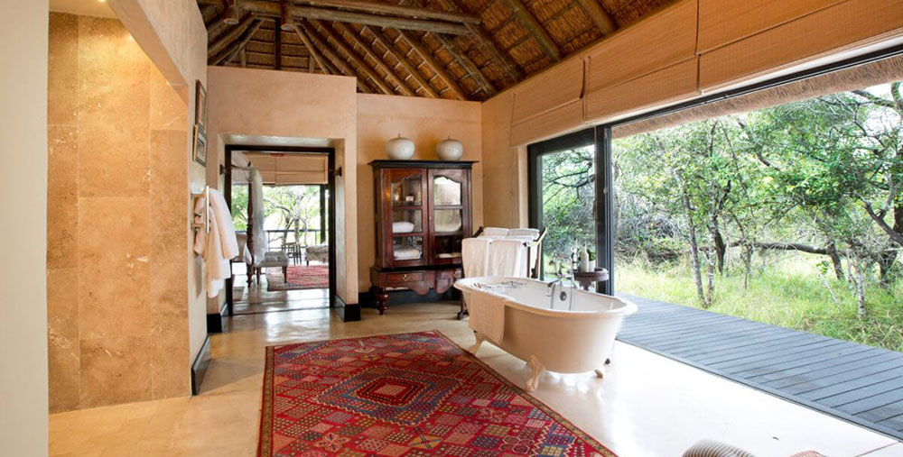 Royal Malawane Royal Suite Bathroom