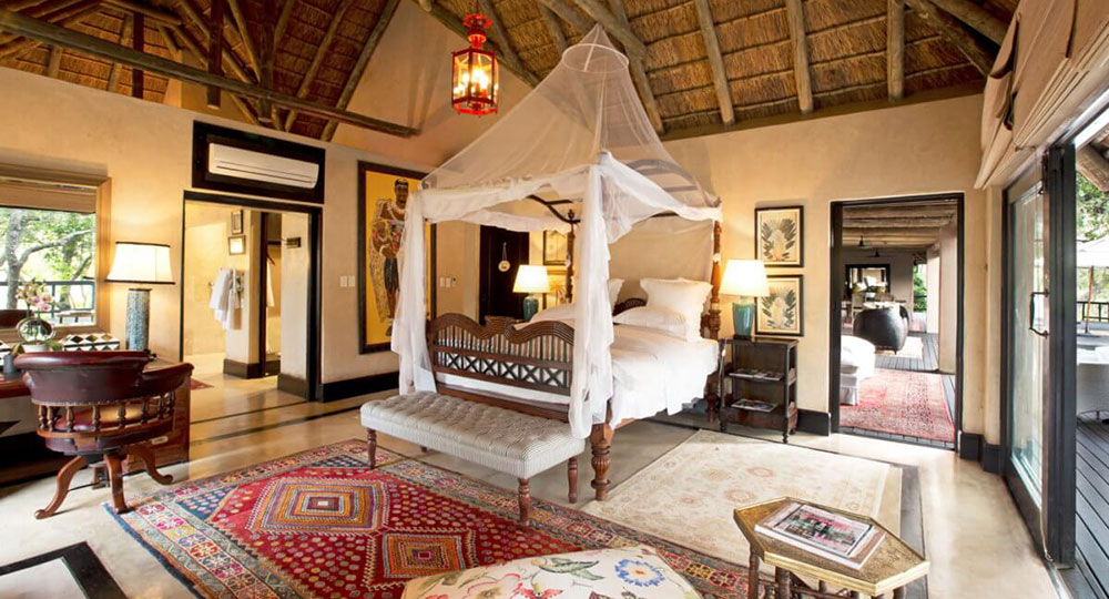 Royal Malawane Royal Suite Bedroom