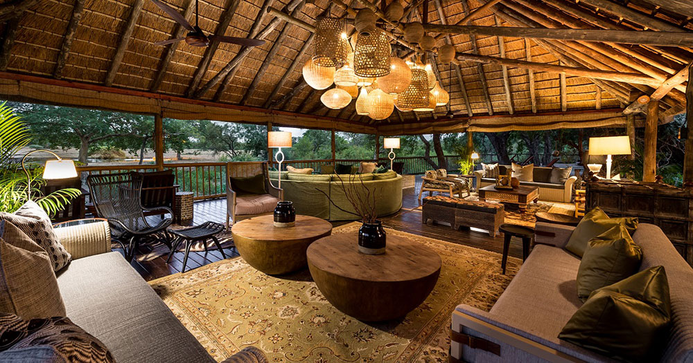 Sabi Sabi Bush Lodge Lounge