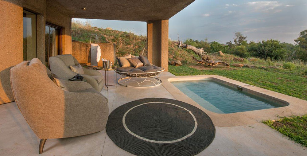 Sabi Sabi Earth Lodge Suite Pool