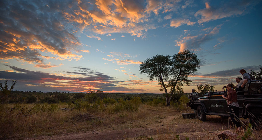 Sabi Sabi Earth Lodge Sunset