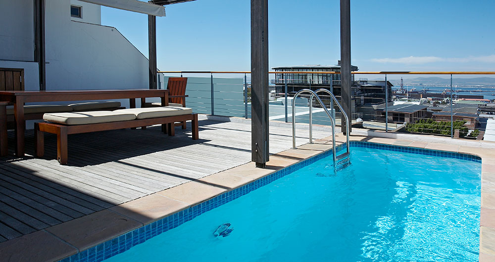 African Elite Properties - Rooftop Pool
