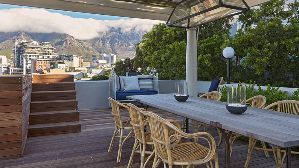 African Elite Properties - Rooftop Deck