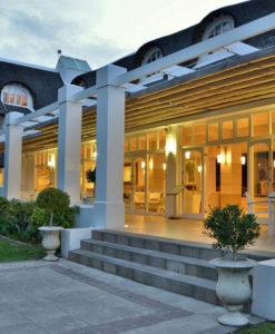 Le Franschhoek Hotel Spa Front
