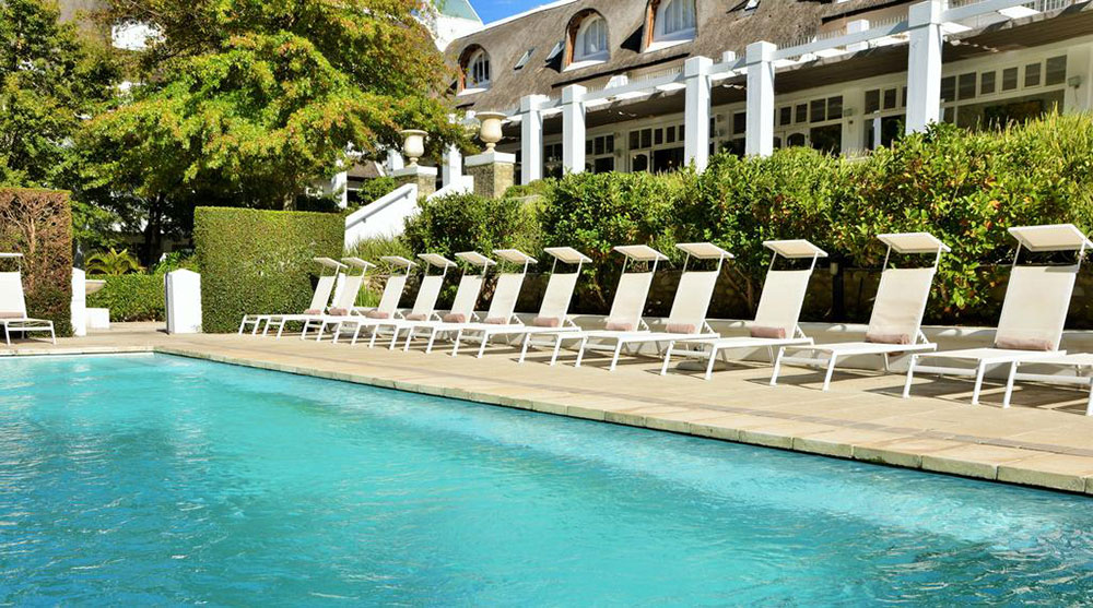 Le Franschhoek Hotel Spa Pool