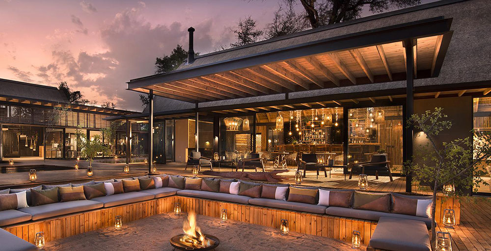 Lion Sands River Lodge - Boma