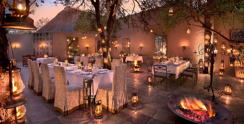 Ngala Safari Lodge Dinner