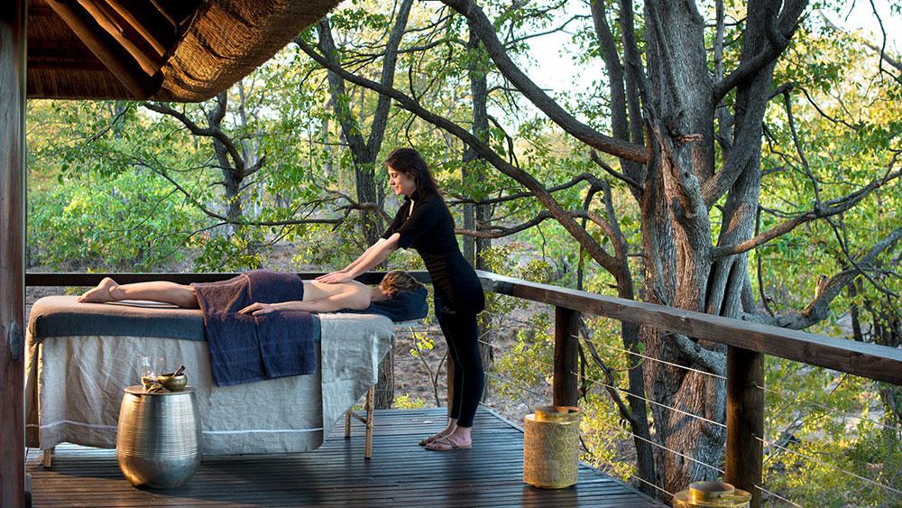 Ngala Safari Lodge Massage