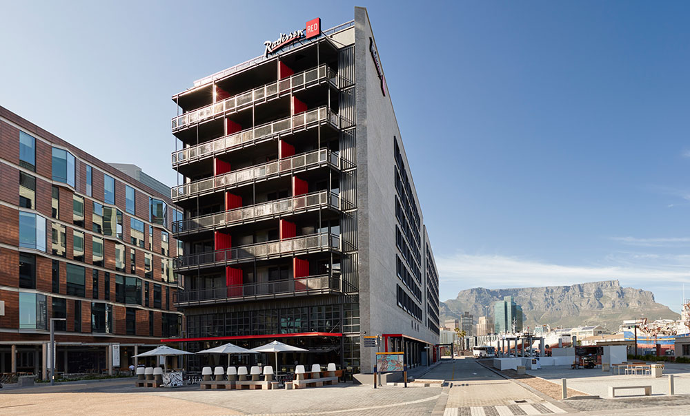 Radisson Red Cape Town Exterior