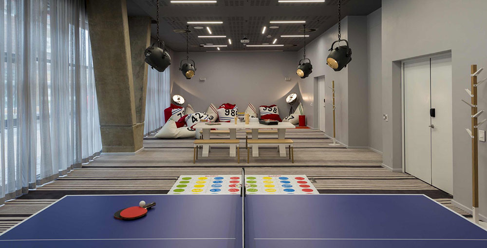 Radisson Red Cape Town Game Room
