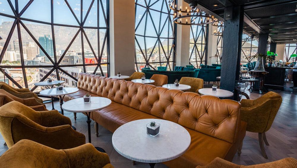 The Silo Hotel Lounge