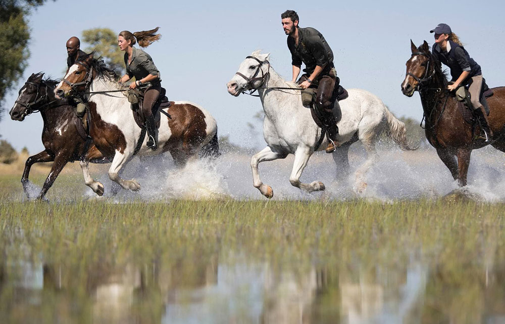 Belmond Eagle Island Lodge Horse Riding