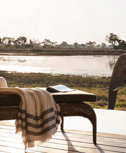 Belmond Eagle Island Lodge Suite terrace