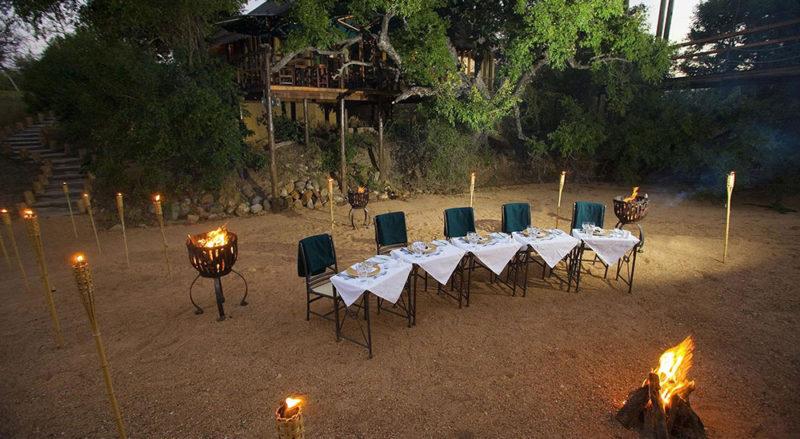 Camp Jabulani - Boma