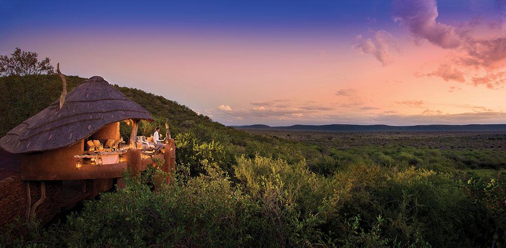 Madikwe Safari Lodge Viewing Deck
