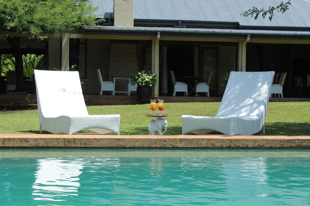 white elephant safari lodge pool