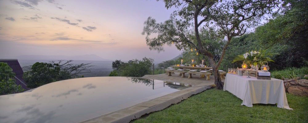 Cottars Safari Pool Dinner