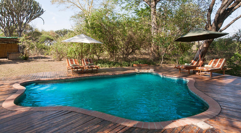Mvuu Lodge Pool